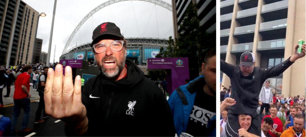 """Mai Klopp decat Klopp! Video ireal cu """"dublura"""" antrenorului lui Liverpool, inainte de Anglia - Germania"""