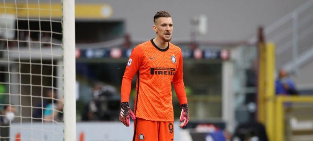 """Telenovela """"Ionut Radu"""" continua! Portarul o poate parasi pe Inter, iar presa vorbeste de un posibil transfer in La Liga"""