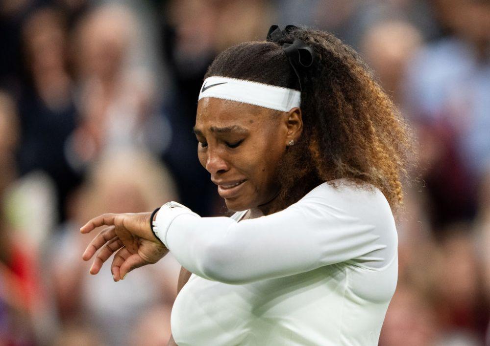 Premiera negativa istorica! Serena Williams s-a retras de la Wimbledon dupa doar 6 game-uri jucate: accidentata, americanca a parasit terenul in lacrimi