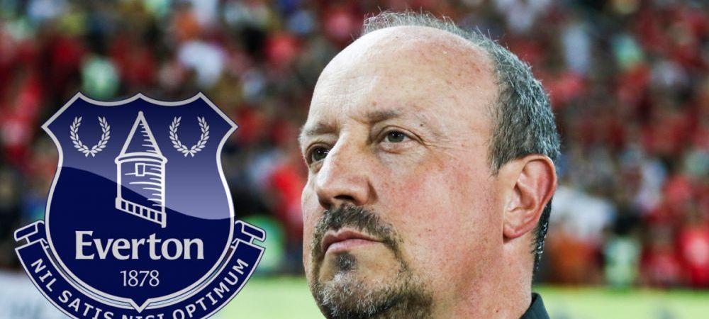"""Rafa Benitez a fost prezentat oficial la Everton! """"Tradare"""" a tehnicianului care a fost pe banca lui Liverpool pentru mai multi ani"""