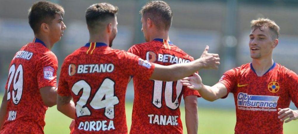 Gigi Becali nu renunta la improvizatii nici in meciurile amicale! Pe ce post a jucat Andrei Cordea in primul meci de pregatire