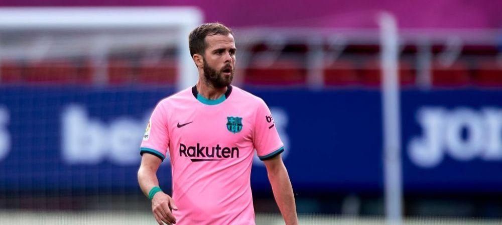 Barcelona vrea sa scape de Pjanic si l-ar putea trimite in Premier League! Chelsea e interesata de jucatorul bosniac