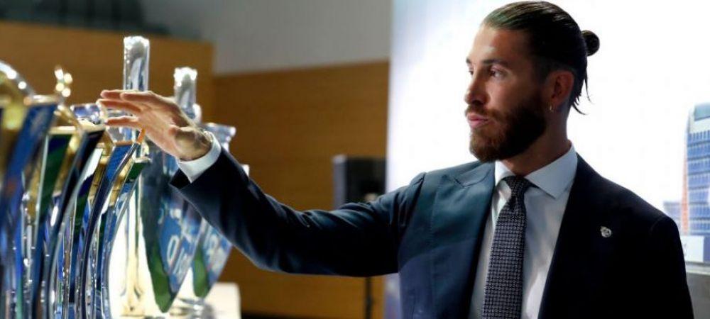 Destinatie surpriza pentru Sergio Ramos! Transferul fundasului spaniol la PSG poate fi deturnat