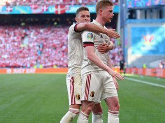 Probleme pentru Belgia, inaintea duelului cu Italia! Eden Hazard si Kevin de Bruyne nu au participat la ultimul antrenament