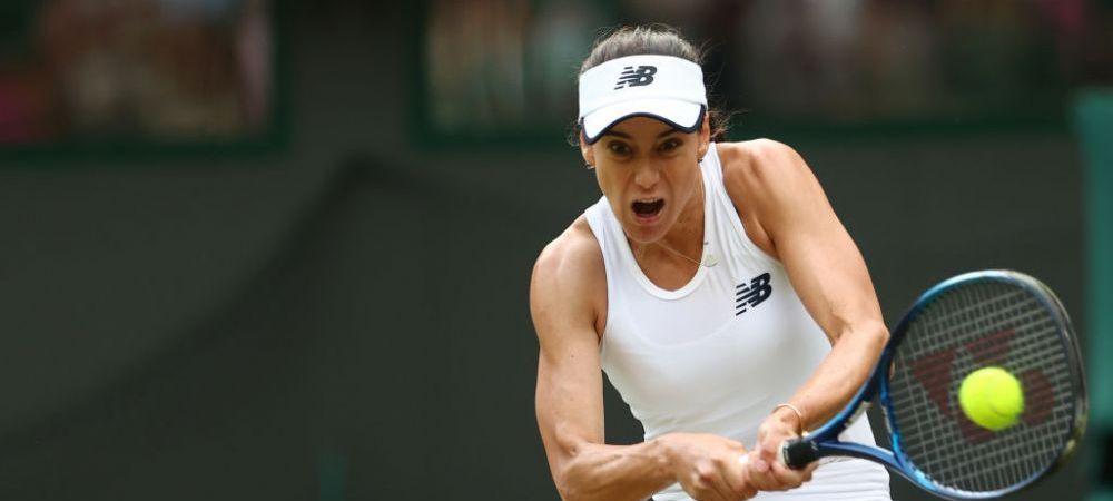 """Wimbledonul, la picioarele ei! Elogiul facut de reprezentantii turneului Soranei Cirstea pe retelele sociale: """"Esti o vedeta!"""""""