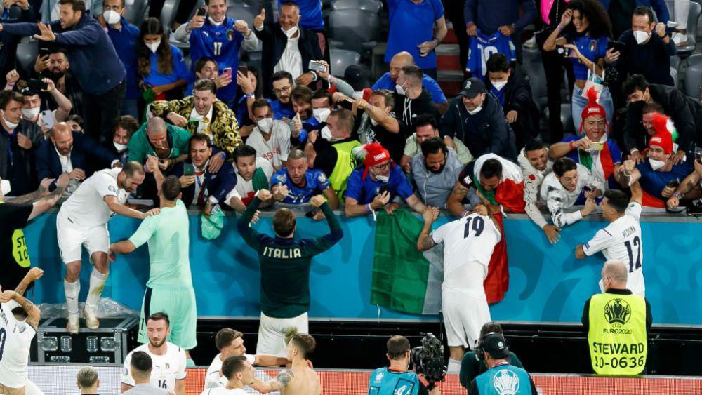 Absolut genial! Ce au putut sa posteze italienii pe pagina oficiala imediat dupa ce au invins Belgia in sferturi