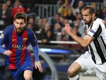 """""""Tehnica e un pic diferita!"""" Chiellini, savuros cand a fost pus sa vorbeasca despre Leo Messi"""