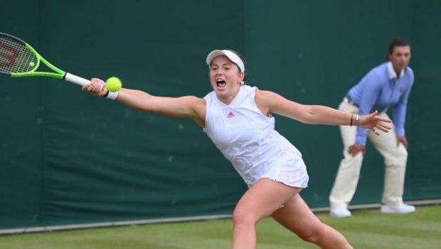 """Scandalul care pateaza prestigiul turneului de la Wimbledon! Jelena Ostapenko s-a dat accidentata cand a vazut ca pierde: """"Stii ca minte, nu?"""" Ce cuvinte grele si-au spus jucatoarele la final"""