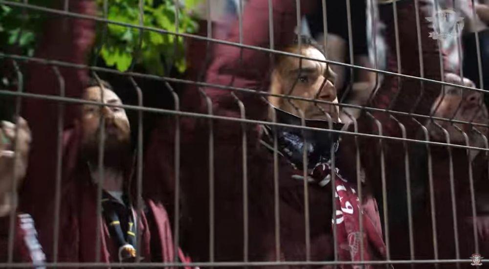 Rapid, singurul club din Romania care are propriul film! Giulestenii au lansat in premiera 'Renasterea'! Pancu, Daniel Niculae sau Voicu sunt protagonisti