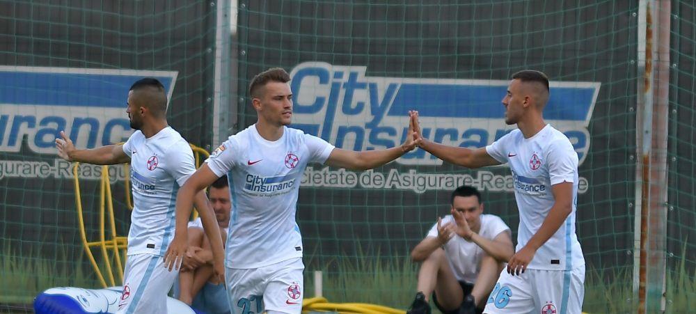 FCSB bate tot in amicale! Elevii lui Dinu Todoran s-au impus cu 3-1 in fata Chindiei Targoviste! Formula folosita de bucuresteni