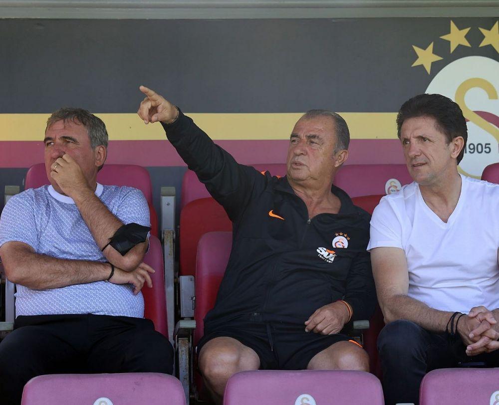 Imagini senzationale cu Popescu si Hagi in prim-plan! Cei doi s-au intalnit cu Fatih Terim, antrenorul alaturi de care au scris istorie la Galatasaray
