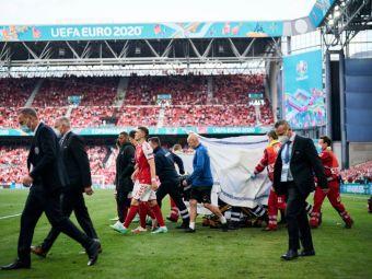 Gest superb al lui Ceferin pentru doctorii care i-au salvat viata lui Eriksen! Presedintele UEFA i-a invitat la finala Euro 2020