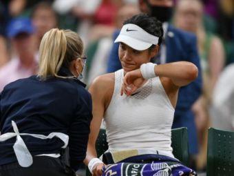 Emma Raducanu, admirata de Marcus Rashford: ce i-a scris atacantul Angliei jucatoarei de 18 ani dupa retragerea de la Wimbledon