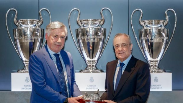 Carlo Ancelotti isi doreste un fost elev la Real Madrid! Cine e vedeta de 55 de milioane de euro