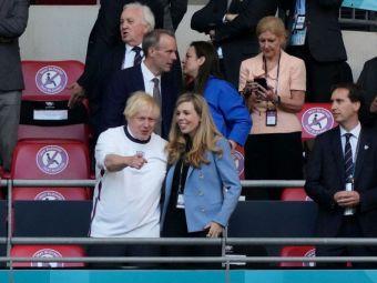 Boris Johnson si sotia sa, in prim planul invitatiilor de pe Wembley. Premierul britanic i-a eclipsat pe David Beckham si pe Printul William