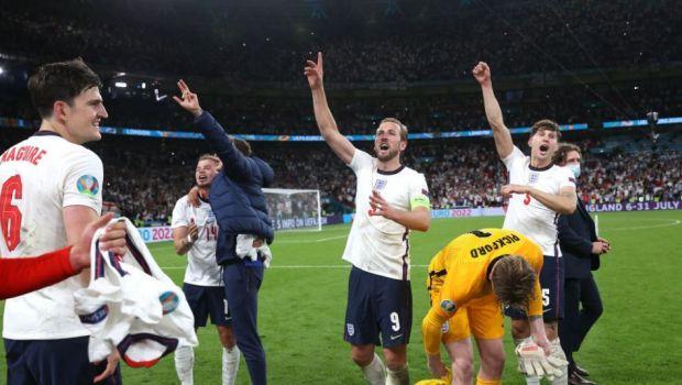 Calificare controversata pentru Anglia in finala! Kane a inscris in prelungiri, iar visul Danemarcei s-a oprit in semifinale