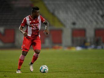 Magaye Gueye, o noua aparitie alaturi de Laurette! Cum a fost surprins fostul atacant de la Dinamo