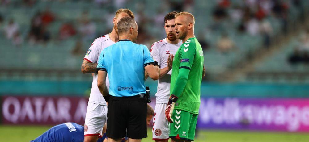 UEFA a anuntat numele arbitrului care va conduce de la centru finala dintre Italia si Anglia! Ovidiu Hategan rateaza finala Euro