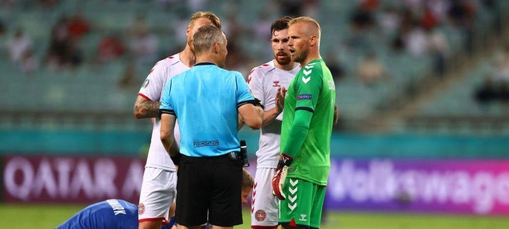UEFA a anuntat numele arbitrului care va conduce de la centru duelul dintre Italia si Anglia! Ovidiu Hategan rateaza finala Euro