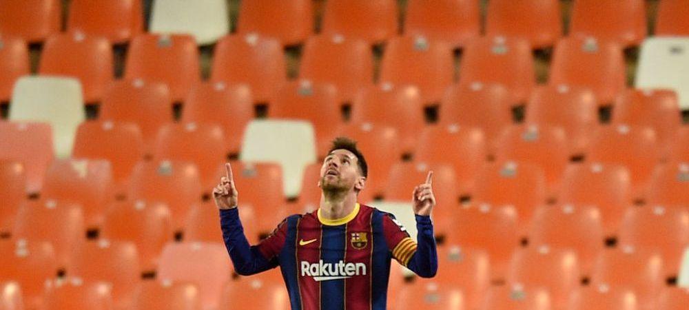 Anuntul momentului in fotbal! Gest imens facut de Messi pentru a ramane la Barcelona! Ce a decis