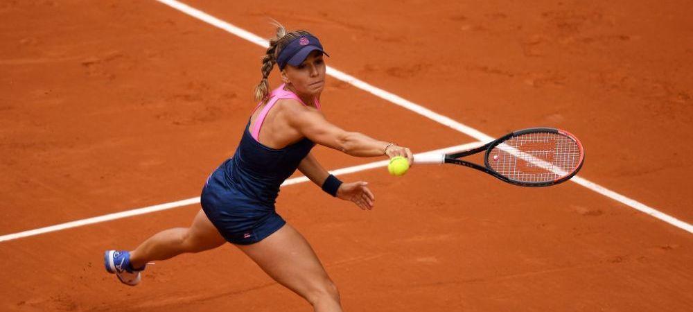 Pozeaza ca Irina Bara :) Ce propunere indrazneata a acceptat jucatoarea din Romania in timpul turneului WTA de la Hamburg