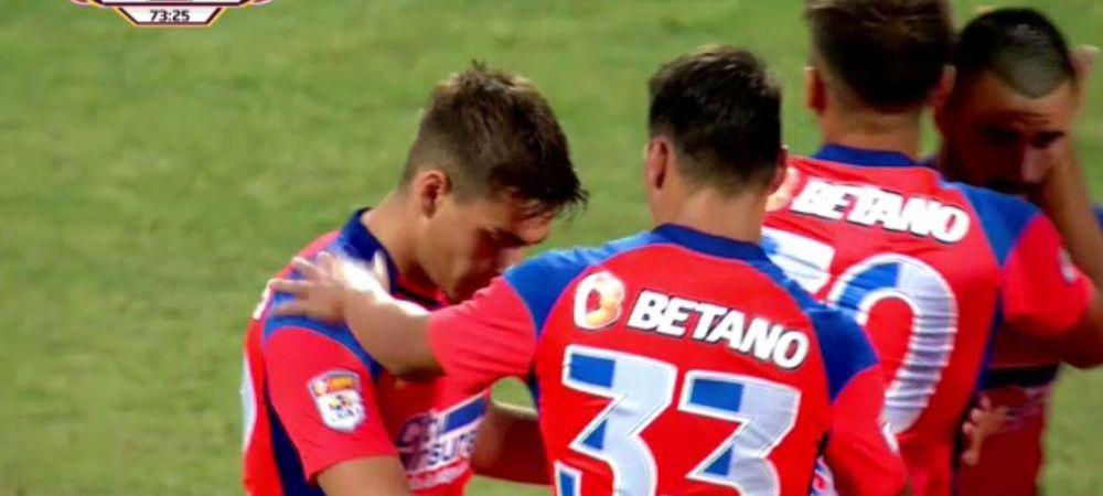 FCSB a distrus-o pe FC Buzau in ultimul amical inainte de debutul in Liga 1! Dupa o prima repriza slaba, fotbalistii lui Todoran s-au dezlantuit in partea secunda. Aici ai cele mai tari faze