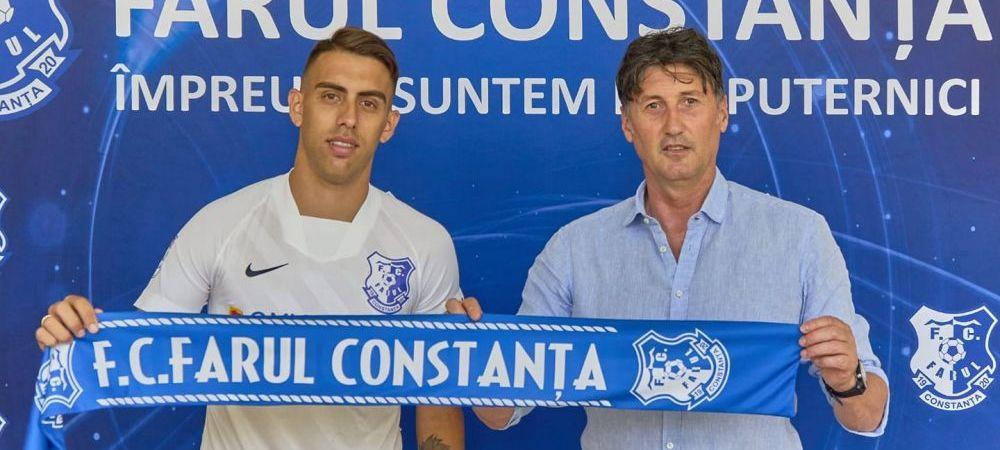 Farul Constanta a bifat un nou transfer important. Cine e jucatorul dorit de FCSB care a ajuns la clubul de malul marii