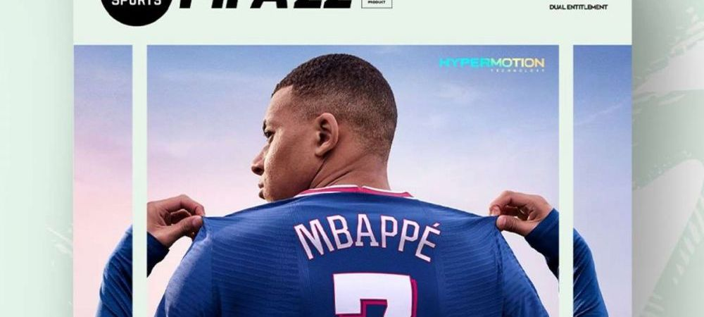 Mbappe, imaginea FIFA 22! Detaliul care arata unde va juca sezonul viitor