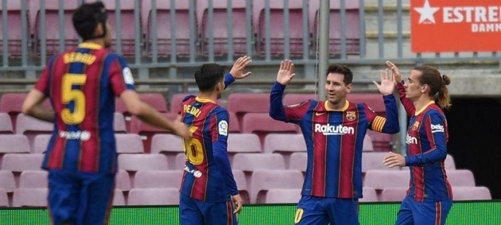 Salvarea Barcelonei vine de la Guardiola! Daca jucatorul pleaca la City, Messi va putea semna noul contract
