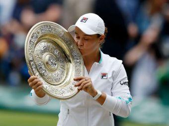 Mesajul Simonei Halep pentru Ashleigh Barty, dupa ce si-a pierdut statutul de campioana en-titre a turneului de la Wimbledon! Cate locuri va cadea romanca in clasamentul WTA