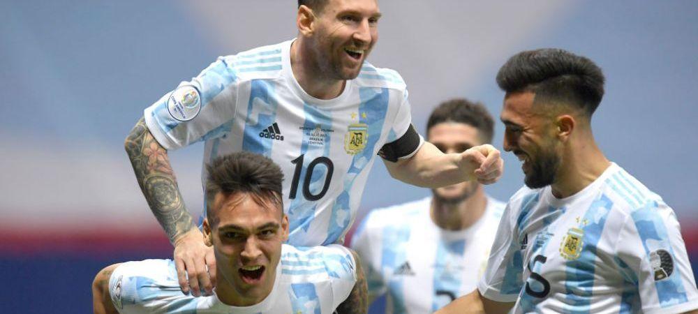 Omagiu superb pentru Messi! Cum a fost decorat un monument din Argentina