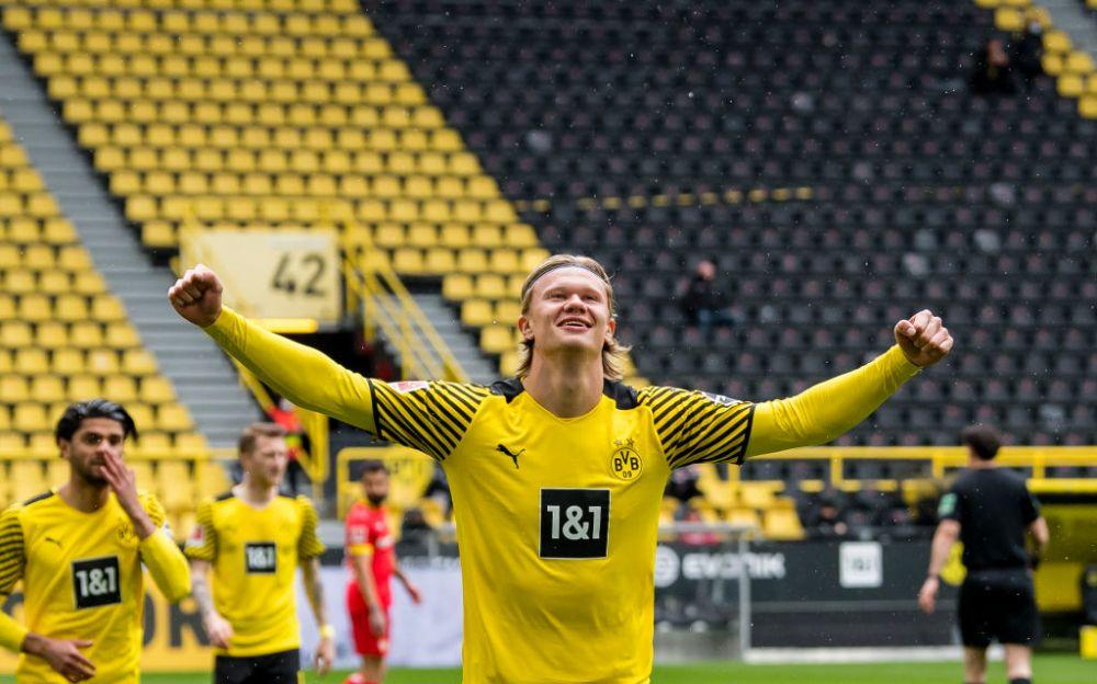 Avertisment pentru Real Madrid in cazul lui Haaland! Un oficial al lui Dortmund a facut anuntul despre viitorul atacantului
