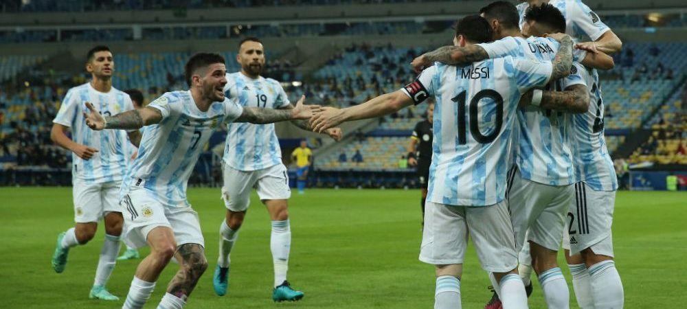 A venit si trofeul cu nationala pentru Messi! Argentina, campioana in Copa America dupa ce a batut-o pe Brazilia pe Maracana