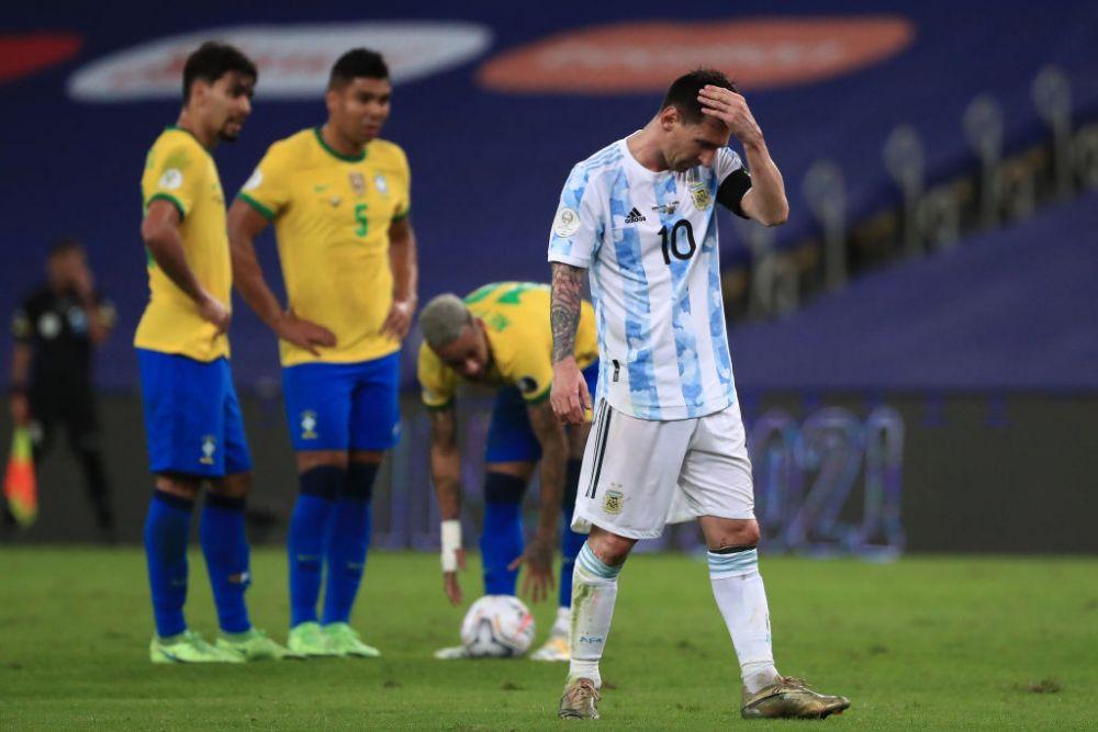 Ratare ireala a lui Messi in finala Copa America! Ce a putut sa faca dupa ce a fost lasat singur cu portarul