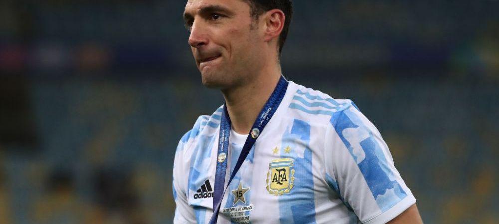 """A facut orice pentru victoria finala! Selectionerul Argentinei a dezvaluit ca Messi a jucat accidentat: """"E cel mai bun din lume"""""""