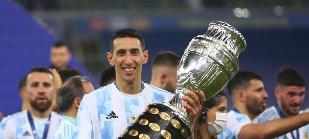 "Angel Di Maria a dezvăluit ce i-a spus Messi inainte de finala Copa America, pe care a reusit sa o decida: ""Asa a fost"""