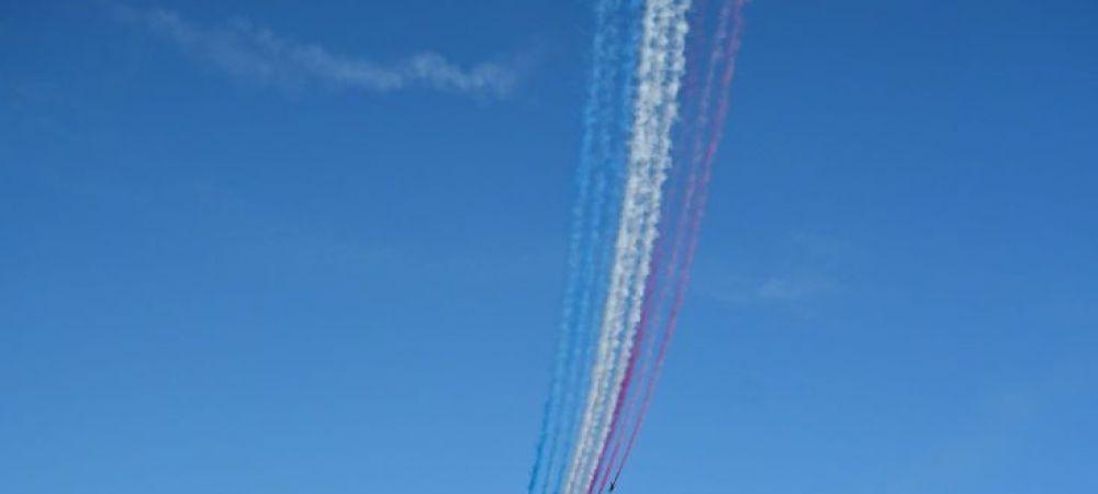 Video superb cu aviatia britanica! In ce formatie incredibila a zburat deasupra Londrei si ce mesaj a transmis nationalei