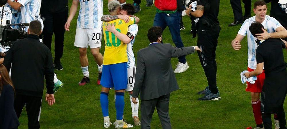 """""""Fiu de catea, m-ai invins!"""" :)) Reactie geniala a lui Neymar dupa ce a pierdut finala Copa America! Ce i-a transmis lui Messi"""