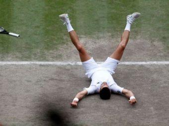 Cel mai bun tenismen din istorie?! Novak Djokovic, campion pentru a treia oara consecutiv la Wimbledon si pentru a 20-a oara intr-un turneu de mare slem