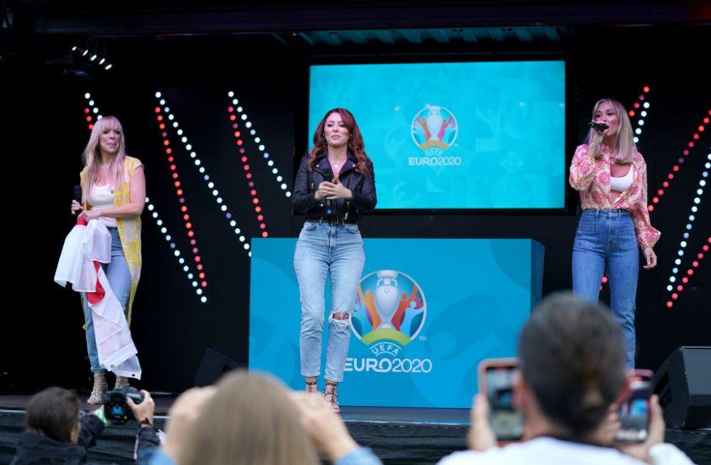 Show total inainte de finala Euro 2020 dintre Italia si Anglia! Artificii, coregrafie si un trofeu urias pentru un spectacol total