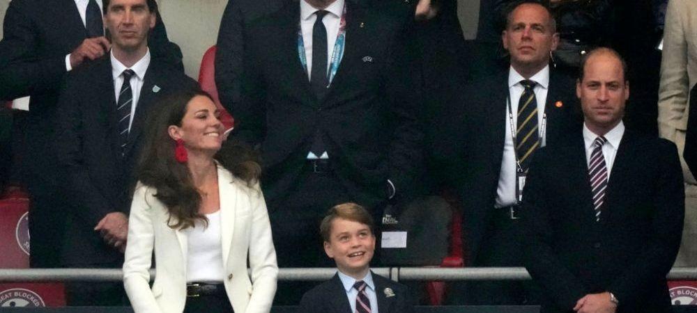 Printul George a facut spectacol pe Wembley. Gestul cu care baiatul Ducilor de Cambridge a facut inconjurul lumiila golul Angliei VIDEO