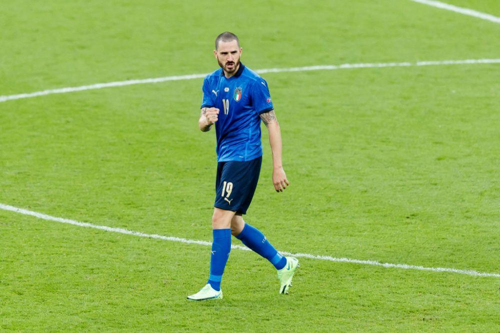 Bonucci e un 'monstru'! Ce record a putut sa doboare cu golul inscris Angliei in finala Euro 2020