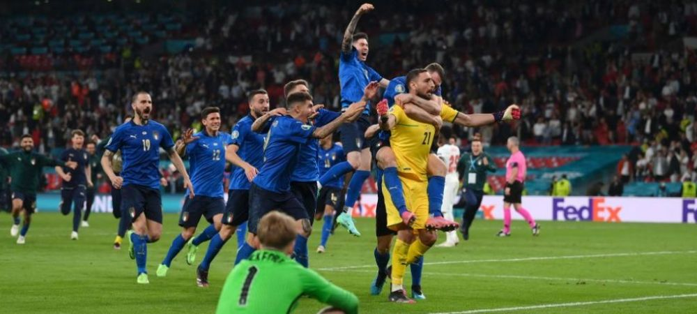 Donnarumma, jucatorul turneului de la Euro 2020! Fotbalistii laureati de UEFA la acest Campionat European