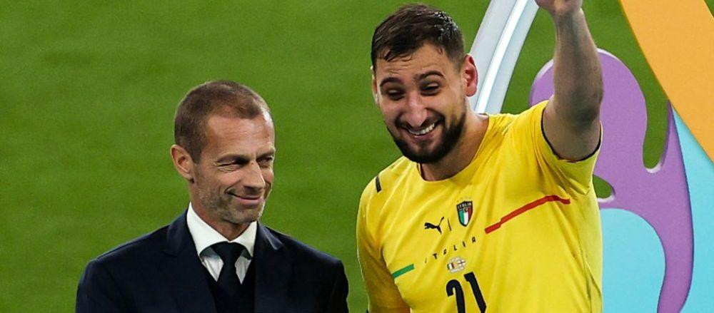 Urmasul lui Buffon? Nu! Donnarumma si-a facut propriul nume la Euro 2020! Parcursul senzational al tanarului portar italian, ales jucatorul turneului