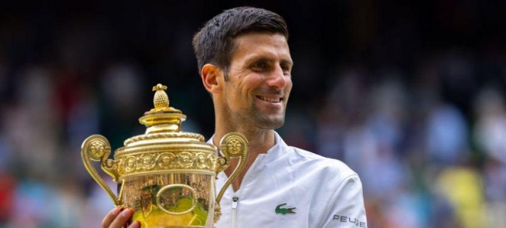"""""""Ma consider cel mai bun tenismen si sunt mai complet ca niciodata!"""" Novak Djokovic face declaratia care ii va enerva pe fanii Fedal: cati bani va castiga pentru victoria de la Wimbledon"""