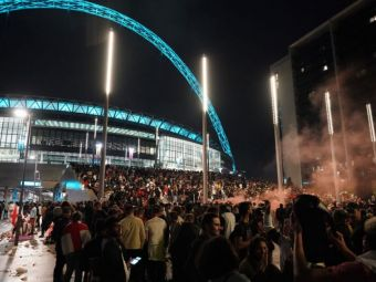 Fanii englezi au riscat totul si au pierdut! 49 de suporteri au fost arestati, anunta politia, dupa incidentele care au precedat finala cu Italia