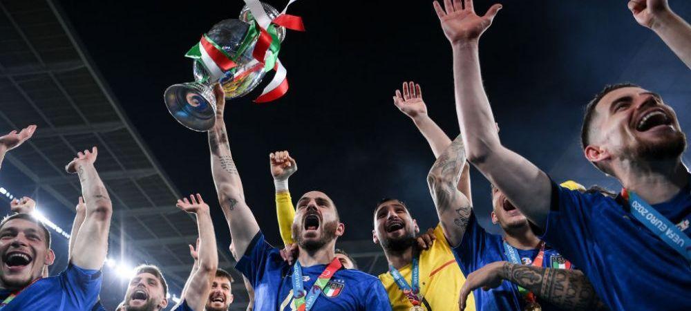 VIDEO   Italienii au facut senzatie in autocar! Cum s-au bucurat dupa ce au castigat EURO 2020