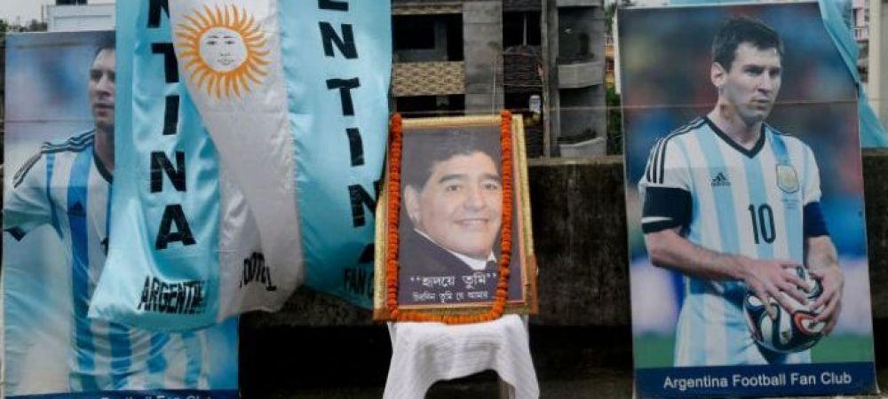Idee nebuna dupa finalul Copa America si Euro 2020: Supercupa Maradona! Argentinienii insista sa se joace Argentina - Italia