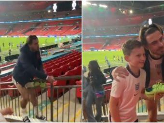 A pierdut finala, dar a gasit puterea sa faca un copil sa zambeasca! Gest superb al lui Grealish la finalul meciului