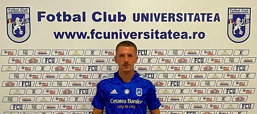 Transfer de ultima ora in Liga 1! Vlad Achim a semnat cu FCU Craiova, la doar cateva ore dupa despartirea de Dinamo